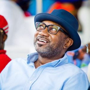 Femi Otedola Spotted Having Lunch With His Angel