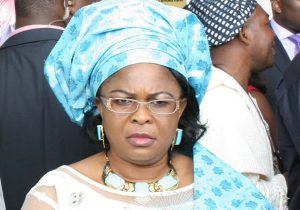 Nobody Said I Stole Money Or Is It In The Law That EFCC Seize Peoples Money Because It Doesn't Like Their Face??? - Patience Jonathan