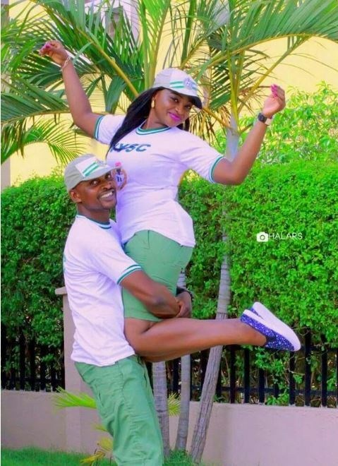 Image result for Checkout Pre-wedding Photos Of Couple Who Met 5 Years Ago During NYSC