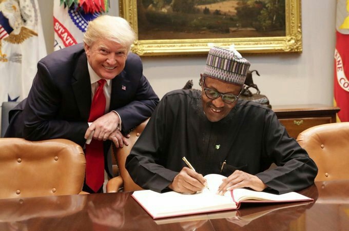 Buhari returns to Abuja after official visit to U.S
