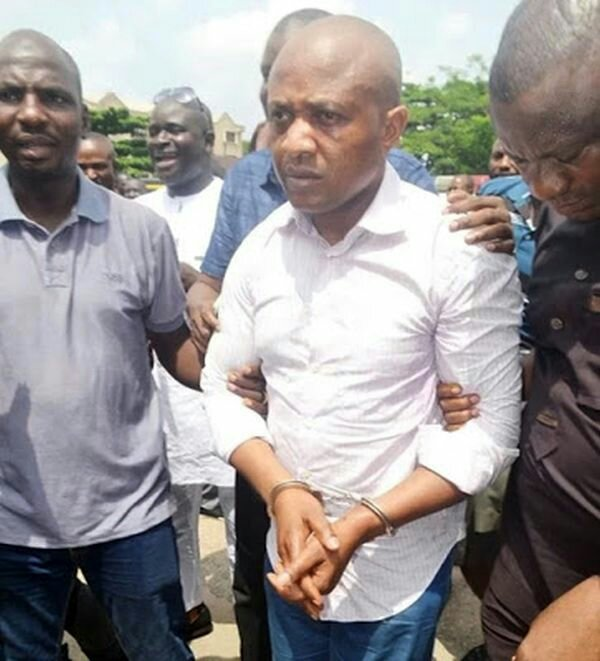 Rich Kidnapper Evans Causes Drama In Lagos High Court (See What He Did)