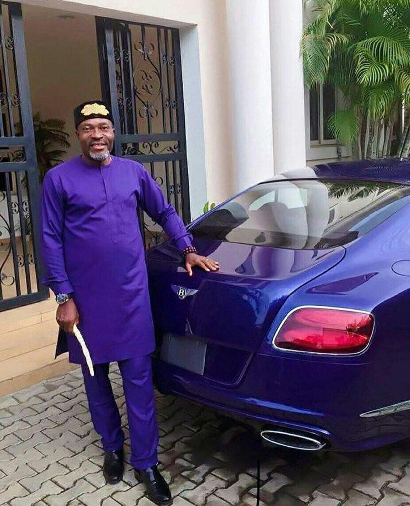 Kanayo O Kanayo Rocks Matching Outfit With His Car (Photo)