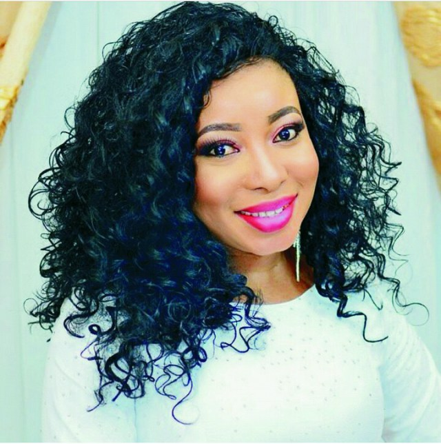 Actress Lizzy Anjorin