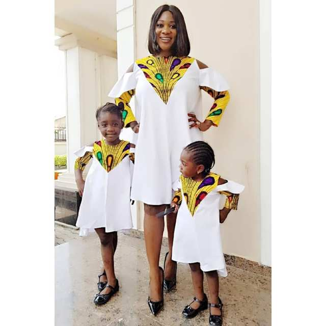 Mercy Johnson And Her Kids, Husband Looking Beautiful In