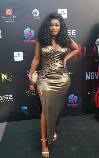 nollywood actress destiny etiko and her deadly curves hit the red carpet - 'Although I Could Not Afford My Benz, I Worked Hard For It' – Destiny Etiko