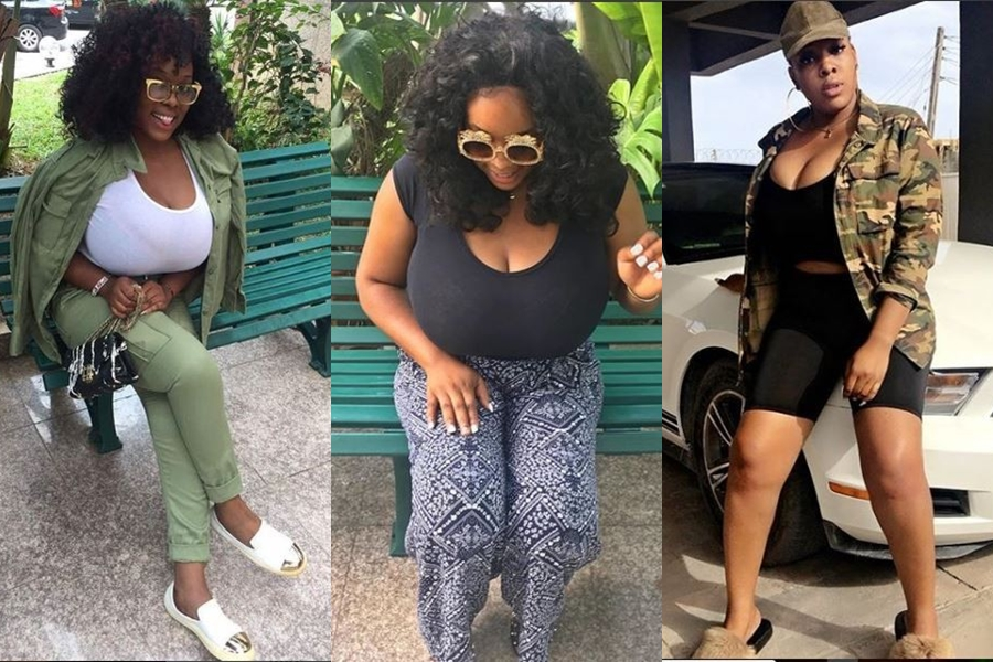 plus size model eva kiss shows off her massive boobs as she wraps up her nysc programme photos - Plus size-model, Eva Kiss exhibits off her large boobs as she wraps up her NYSC programme (Pictures)