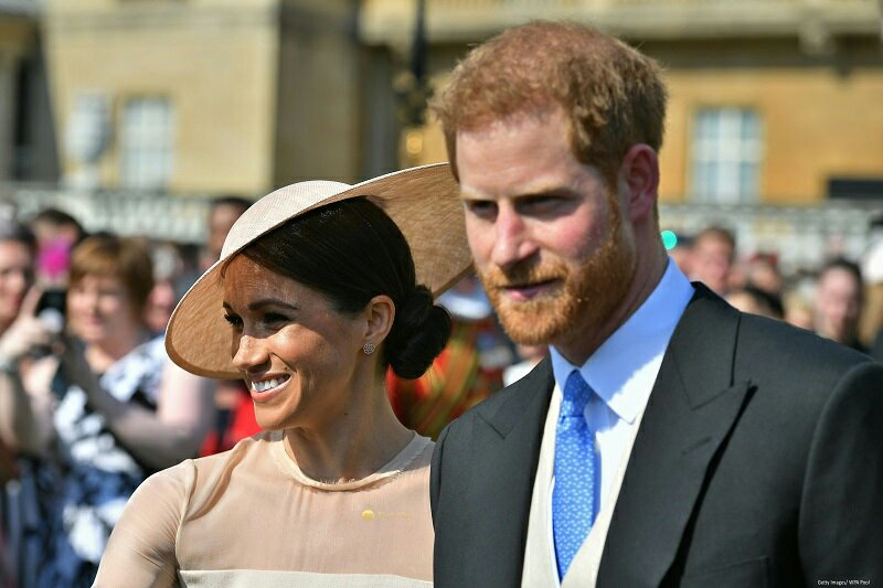 Prince Harry And Meghan Markle Make First Official Appearance As A Married Couple