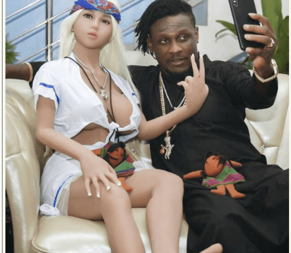 'I Bought my Sex Doll for N5m & I have Not had Sex with it, Its Still Virgin'- Singer Mr Shaa