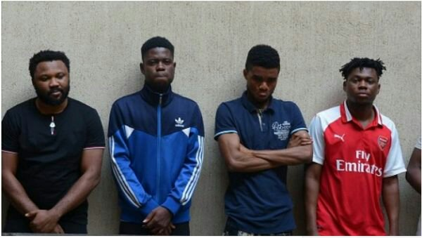 Six 'Yahoo' Boys Arrested By EFCC At Their Hideouts In Abuja