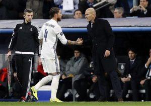 Real Madrid captain, Sergio Ramos