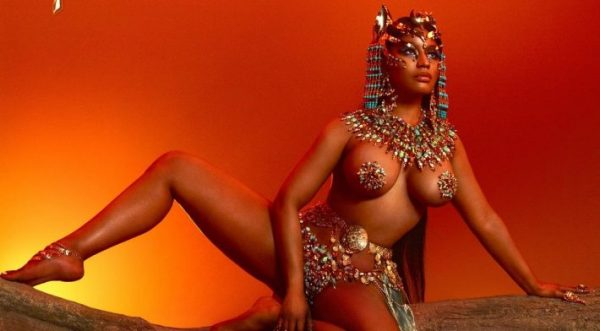 Nicki Minaj Unveils Artwork For Her Upcoming Album 'Queen'