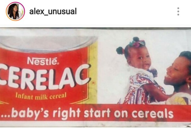 alex shocks fans as she shares epic throwback photo 1 - Alex shocks followers as she shares epic Throwback Picture