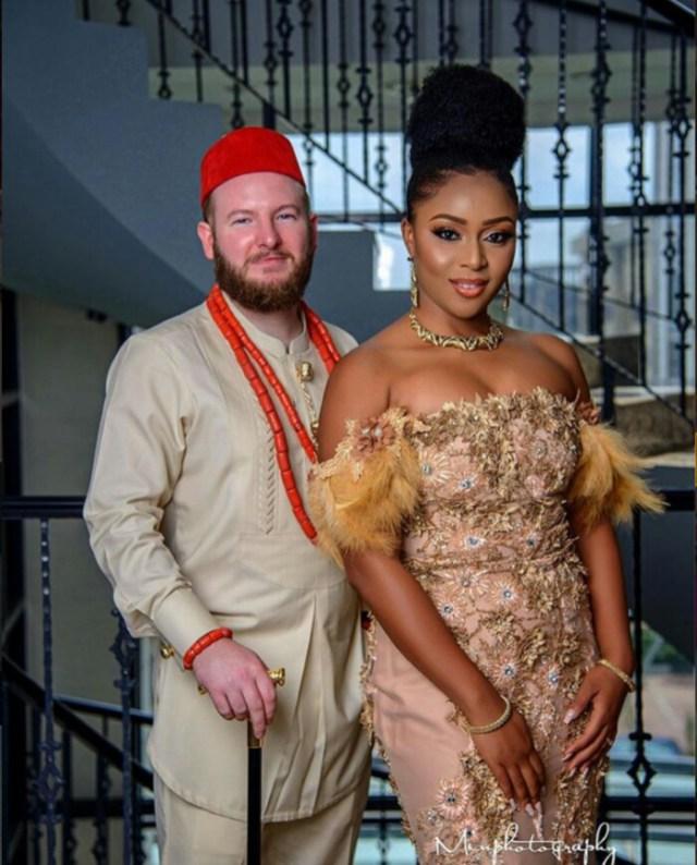 Photo Gallery Nigerian Wedding: Beautiful Pre-wedding Photos Of A White Man And His Igbo