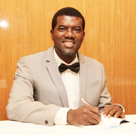 """ex presidential aide omokri reacts to tinubus comment on buhari deserving a 2nd term - Video: Reno Omokri faults Gbajabiamola for """"bowing"""" to Tinubu"""