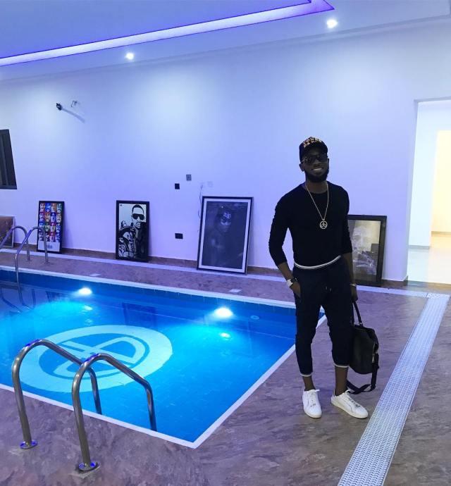 D'Banj's pool