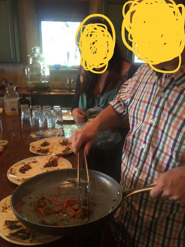man serves his amputated foot to friends for dinner 2 - Man serves his amputated foot to pals for dinner