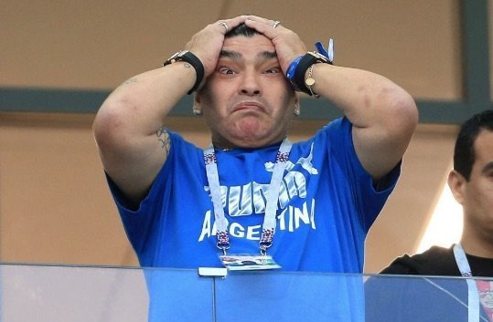 nigeria vs argentina maradona demands access to speak with messi argentina players - Football legend, Diego Maradona arrested over $9million payout