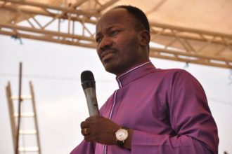 """Why Any Man That Beats A Woman Should Live In The Zoo"" – Apostle Suleman"