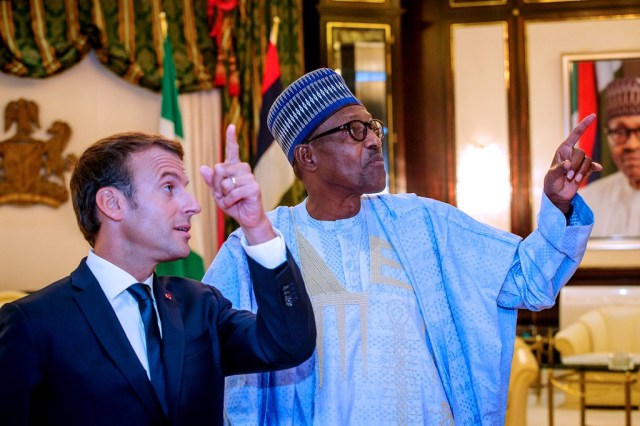 President Macron Nigeria