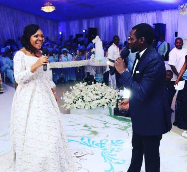 White Wedding On Youtube: More Photos From The N10million White Wedding Of Olu