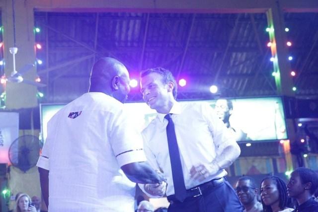 President Macron visit Lagos