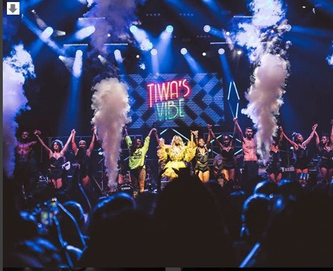 Photos From Tiwa Savage's Concert In London