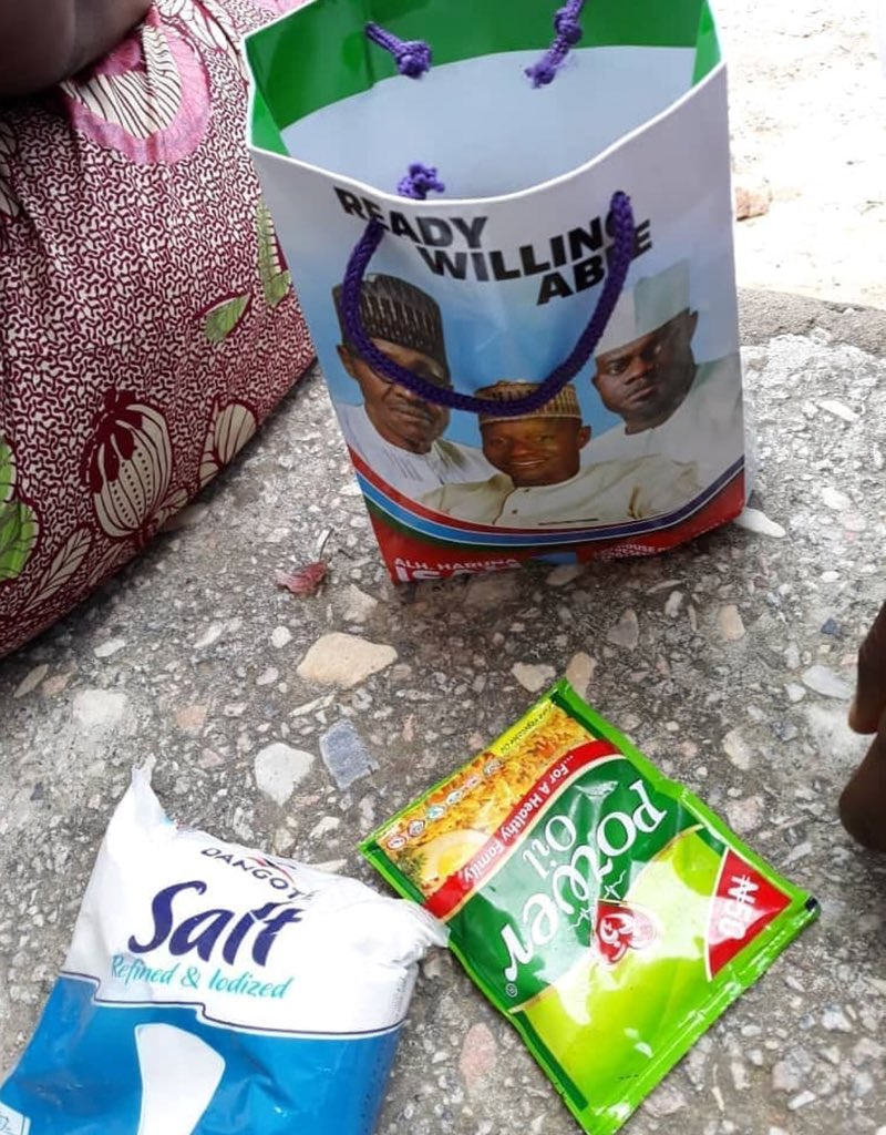 Kogi Election: APC allegedly buys votes by giving voters onions