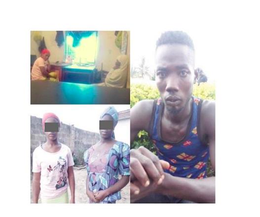 Man kidnaps 2 igbo girls, convert them to Islam