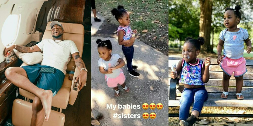Image result for davido daughters
