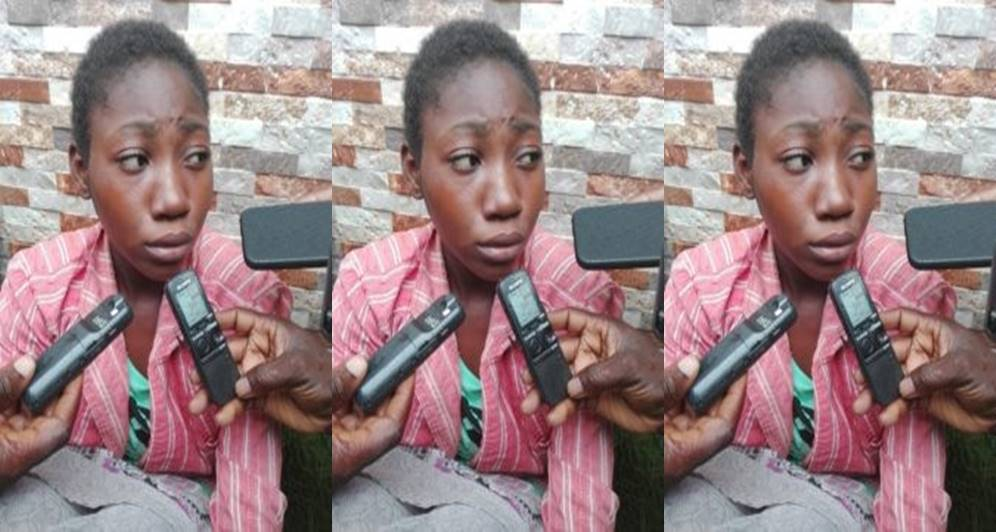 """""""It was a spirit that told me to go and kill her"""" - 14-year-old housemaid narrates how she murdered her madam in Edo State"""
