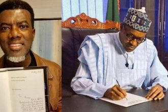 Reno Omkri Finds Something Good In Buhari, Commends Him