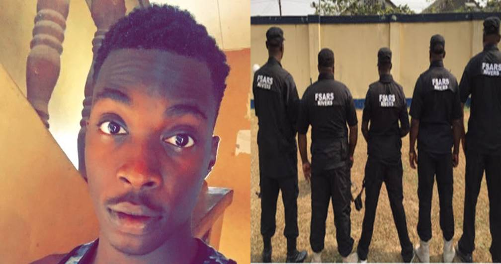 SARS officers allegedly tag student Yahoo boy, extort 17k from him