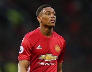 Manchester United striker, Anthony Martial