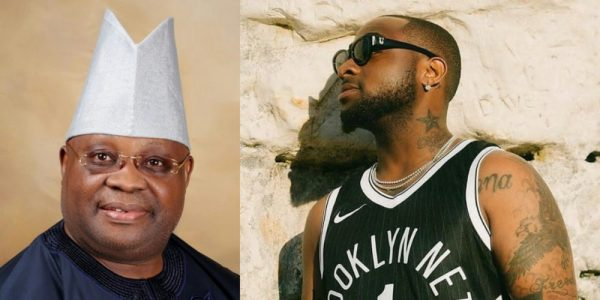 Davido Expressed Disappointment As Uncle, Ademola Adeleke, Loses At Court Of Appeal