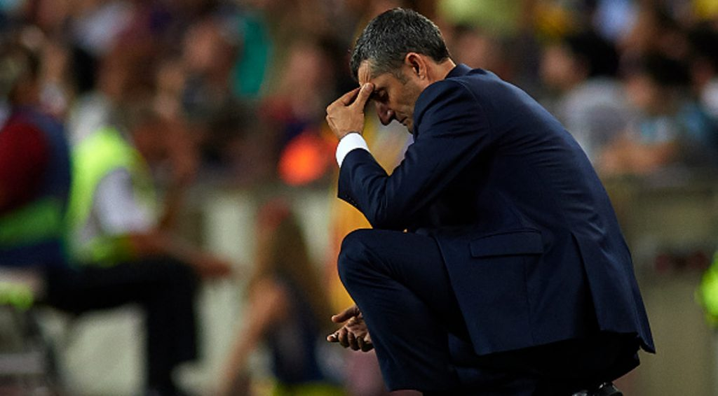 ''FIRE VALVERDE RIGHT NOW'' - Fans Call For Barcelona's Coach Sacking After Disappointing Loss To Liverpool