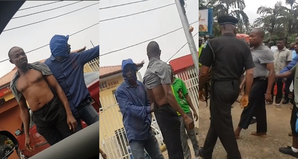 Okada man raises alarm after random man touches him and his penis disappears in Lagos (Video)