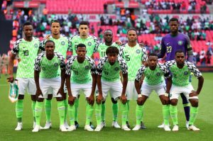 "Super Eagles vs England June2018 300x199 - Nigeria vs Zimbabwe: ""Truly Our Stadium Is Not Built For Football Match But APC/PDP Rally"" – Nigerians React To Venue Of Match"