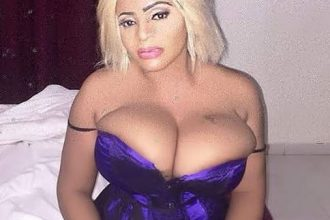 Actress Cossy Ojiakor exposes 3 stingy men who can't get enough of her boobs