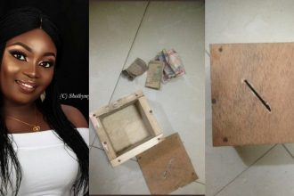 SHOCKING: Nigerian Lady Reveals The Mysterious Thing She Found In Her Piggy Bank