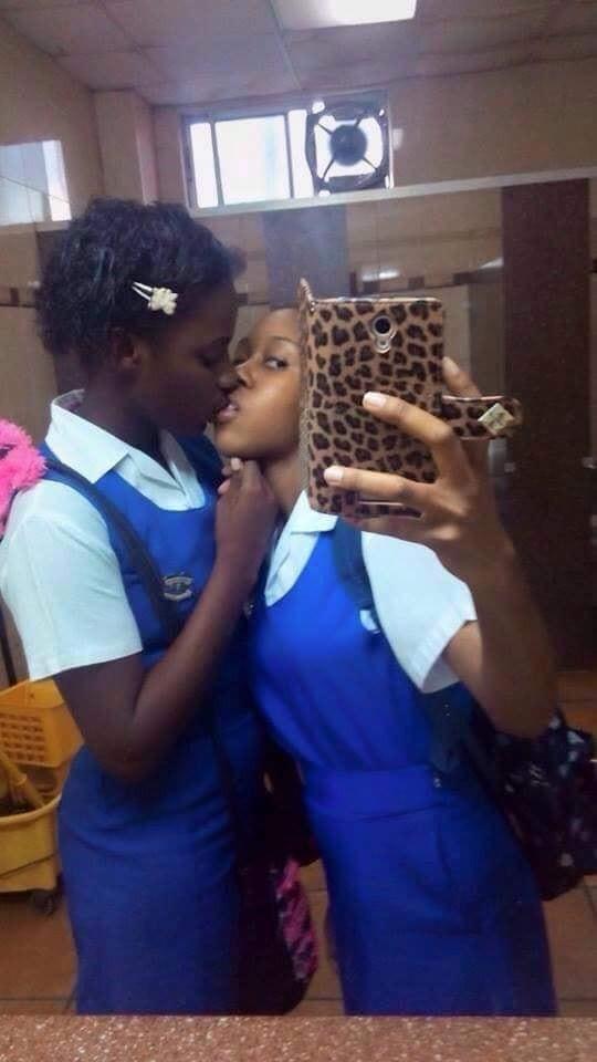 School Girls Locker Room