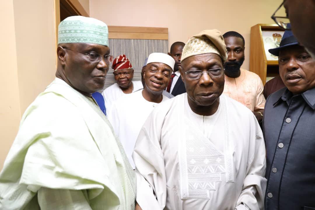 Atiku Abubakar and Former President Obasanjo