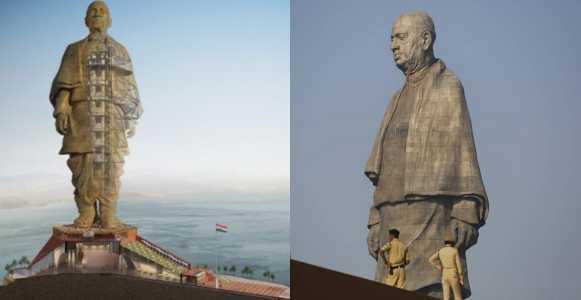 India Unveils $430 Million World's Tallest Statue (Photos)