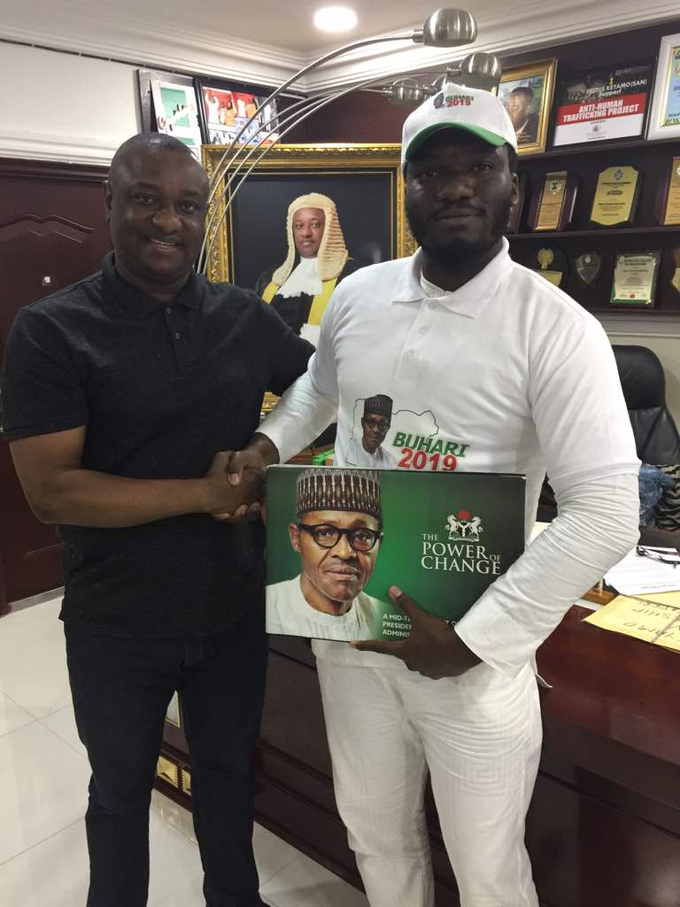 IMG 20181109 002555 - PDP Chieftain's son, Ditan Okupe joins Buhari marketing campaign group, says PDP mustn't ever be allowed to return to energy
