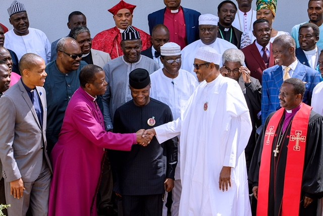 christian leaders visit buhari inside aso rock you wont believe what they told him - Does Buhari listen to the masses at all – CAN on Buhari attending OIC meeting