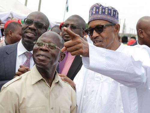 Oshiomole and Buhari