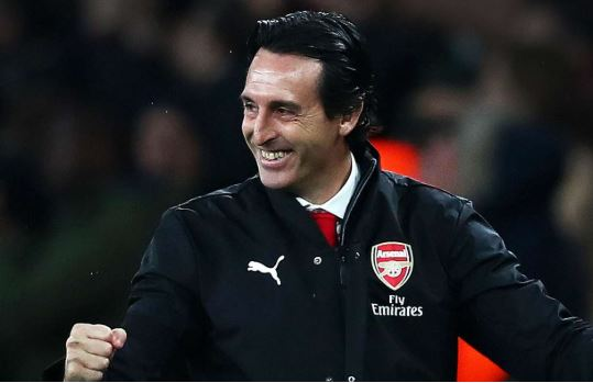 Arsenal coach, Unai Emery