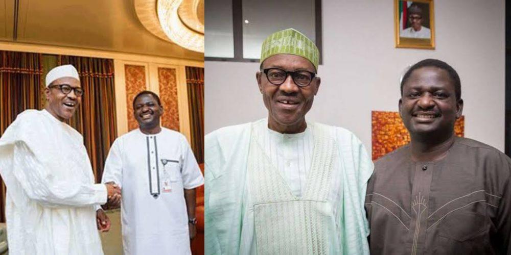 Femi Adesina Muhammadu Buhari