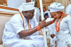 Ooni and wife