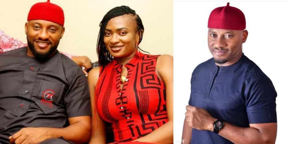 Yul Edochie and his wife