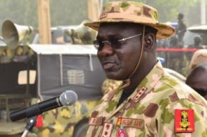 Burutai blames recent Boko Haram attacks on soldiers